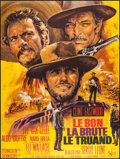 "Movie Posters:Western, The Good, the Bad and the Ugly (United Artists, R-1970s). French Grande (46.5"" X 61""). Western.. ..."