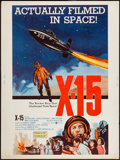 """Movie Posters:Adventure, X-15 (United Artists, 1961). Poster (30"""" X 40""""). Adventure.. ..."""