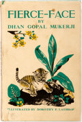 Books:Children's Books, Dhan Gopal Mukerji. Fierce-Face: The Story of a Tiger. NewYork: E.P. Dutton, 1936. First edition, first printing. I...