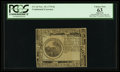 Colonial Notes:Continental Congress Issues, Continental Currency November 29, 1775 $6 Blue Counterfeit DetectorPCGS Apparent Choice New 63.. ...