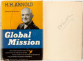 Books:Biography & Memoir, General H. H. Arnold. SIGNED. Global Mission. New York: Harper& Brothers, Publishers, 1949. First edition. Signed by the ...