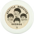 Music Memorabilia:Memorabilia, Beatles - Vintage Flasher Button (1964)....