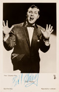Music Memorabilia:Autographs and Signed Items, Bill Haley Signed Photo. ...