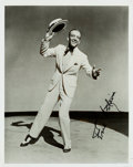 Movie/TV Memorabilia:Autographs and Signed Items, A Fred Astaire Signed Black and White Photograph, Circa 1980s....