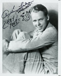Movie/TV Memorabilia:Autographs and Signed Items, An Arthur Lake Signed Photo with Dagwood Sketch. ...