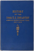 Books:Americana & American History, James H. Fifield. A History of the 104th U. S. Infantry, A.E.F.1917-1919. Privately printed, [1946]. First edit...