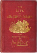 Books:Biography & Memoir, [George Cruikshank, Illustrator]. Robert B. Brough. The Life ofSir John Falstaff. London: Longman, Brown, Green, Lo...
