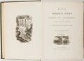 Books:Natural History Books & Prints, David Dale Owen. Report of a Geological Survey of Wisconsin, Iowa and Minnesota. Philadelphia: Lippincott, Grambo an...