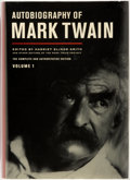 Books:Biography & Memoir, Harriet Elinor Smith, editor. Autobiography of Mark Twain, Volume 1. University of California Press, [2010]. First e...