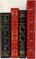 Books:Fine Press & Book Arts, [Easton Press or Franklin Library]. Lot of Four Titles. Variousplaces, dates. Publisher's bindings. Titles include: The J...(Total: 4 Items)