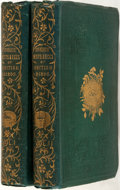 Books:Natural History Books & Prints, F. O. Morris. A Natural History of the Nests and Eggs of British Birds. London: Groombridge and Sons, 1853. Two octa... (Total: 2 Items)