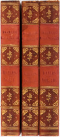 Books:Literature Pre-1900, Thomas Davies. Dramatic Miscellanies. London: Printed for the author, 1784. First edition. Three octavo volumes. Hal... (Total: 3 Items)