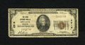 National Bank Notes:Missouri, Sedalia, MO - $20 1929 Ty. 1 The Third NB Ch. # 2919. This VeryGood $20 was a wallet piece resulting in several edg...