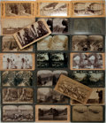 Books:Americana & American History, [Americana] Lot of 23 Stereocards Featuring Views of the GrandCanyon, Arizona, Colorado, etc. Includes examples by Underwoo...
