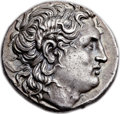 Ancients:Greek, Ancients: THRACIAN KINGDOM. Lysimachus (323-281 BC). AR tetradrachm (28mm, 17.15 gm, 1h). ...