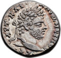 Ancients:Roman Provincial , Ancients: SYRIA. Laodiceia ad Mare. Caracalla (AD 198-217). ARtetradrachm (26mm, 12.62 gm, 1h)....