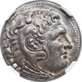 Ancients:Greek, Ancients: MACEDONIAN KINGDOM. Alexander III the Great (336-323 BC).AR tetradrachm (27mm, 17.04 gm, 12h). ...