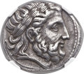 Ancients:Greek, Ancients: MACEDONIAN KINGDOM. Philip II (359-336 BC). ARtetradrachm (24mm, 14.33 gm, 10h)....