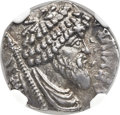 Ancients:Greek, Ancients: NUMIDIAN KINGDOM. Juba I ( ca. 60-46 BC). AR denarius(17mm, 4.01 gm, 10h). ...