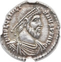 Ancients:Roman Imperial, Ancients: Julian II 'The Philosopher' (AD 360-363). AR siliqua (17mm, 2.09 gm, 6h). ...