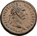 Ancients:Roman Provincial , Ancients: SYRIA. Antioch. Trajan (AD 98-117). Æ as (25mm, 12.55 gm,6h)....