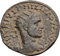 Ancients:Judaea, Ancients: Neapolis, Samaria. Philip I (AD 244-249). Æ 28mm (16.42gm, 12h). ...