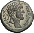 Ancients:Judaea, Ancients: Ascalon, Judaea. Antoninus Pius (AD 138-161). Æ 27mm(16.98 gm, 11h). ...