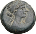 Ancients:Greek, Ancients: PTOLEMAIC EGYPT. Cleopatra VII (51-30 BC). Æ 40 drachmai(21mm, 7.85 gm, 11h)....
