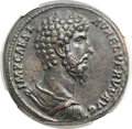 Ancients:Roman Imperial, Ancients: Lucius Verus (AD 161-169). Orichalcum sestertius (32mm,24.59 gm, 11h). ...