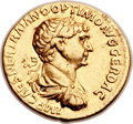 Ancients:Roman Imperial, Ancients: Trajan (AD 98-117). AV aureus (20mm, 7.13 gm, 6h)....