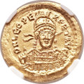 Ancients:Roman Imperial, Ancients: Leo I the Great, Eastern Roman Emperor (AD 457-474). AVsolidus (20mm, 4.49 gm, 6h)....