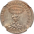 Chile, Chile: Republic Peso 1817 So-FJ,...