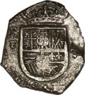 Colombia, Colombia: Philip III (posthumous) cob 2 Reales 1622 SF,...