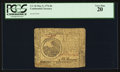 Colonial Notes:Continental Congress Issues, Continental Currency May 9, 1776 $6 PCGS Very Fine 20.. ...