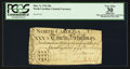 Colonial Notes:North Carolina, Repeater Serial Number North Carolina March 9, 1754 30s PCGSApparent Very Fine 30.. ...