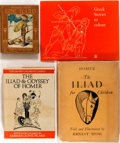 Books:Children's Books, [Children's]. Group of Four Children's Editions of TheIliad. Includes a colouring book of Greek stories. Va...(Total: 4 Items)