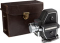 Movie/TV Memorabilia:Instruments , An Orson Welles 'Bell & Howell 240' 16mm Movie Camera, Circa 1957....