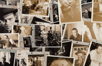"""An Orson Welles Large Collection of Black and White Film Stills from """"Citizen Kane."""""""