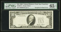 Error Notes:Third Printing on Reverse, Fr. 2027-L $10 1985 Federal Reserve Note. PMG Gem Uncirculated 65 EPQ.. ...