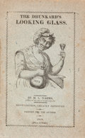 Books:Americana & American History, M[ason] L[ocke] Weems. The Drunkard's Looking Glass.Philadelphia: Printed for the Author, 1818. Sixth edition.Fr...