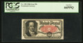 Fractional Currency:Fifth Issue, Fr. 1381 50¢ Fifth Issue PCGS Gem New 66PPQ.. ...