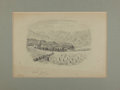 Books:Original Art, (Artist Unknown). Original Watercolor Depicting Imst, Tyrol in Austria. Dated June 1868, most likely in the artist's hand. M...