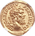 Ancients:Roman Imperial, Ancients: Pertinax (AD 193). AV aureus (20mm, 7.18 gm, 6h). ...