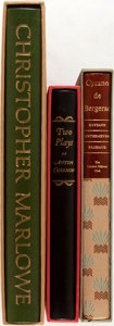 Books:Fine Press & Book Arts, [Limited Editions Club]. Lot of Three Titles. [New York: LimitedEditions Club, various dates]. Including: Four Plays by...(Total: 3 Items)