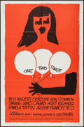 """Movie Posters:Comedy, One, Two, Three (United Artists, 1962). One Sheet (27"""" X 41"""").Comedy.. ..."""