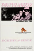 "Movie Posters:Crime, Bonnie and Clyde (Warner Brothers-Seven Arts, 1967). One Sheet (27""X 41""), Lobby Card (11"" X 14""), & Photos (10) (8"" X 10"")...(Total: 12 Items)"