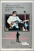 "Movie Posters:Rock and Roll, The Buddy Holly Story Lot (Columbia, 1978). One Sheet (27"" X 41""),& Pressbook (16 Pages, 8.5"" X 14"") Style A. Rock and Roll...(Total: 2 Items)"