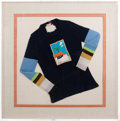 Movie/TV Memorabilia:Memorabilia, An Orson Welles-Owned David Hockney Limited Edition Sweater, Circa1971....