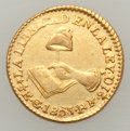 Mexico, Mexico: Republic gold 1/2 Escudo 1853 Go-PF,...