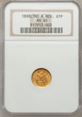 Mexico, Mexico: Republic gold Peso 1898/7 Mo-M,...